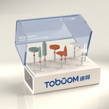 Toboom®貴金属材研磨用ポイントセットHP-HP0409D